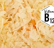 Vitamin B12 –zum Beispiel in Sauerkraut