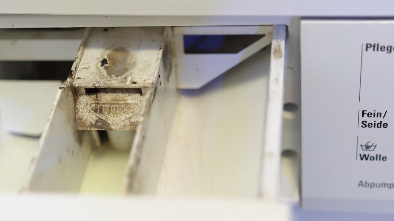 Bevorzugt Stinkende Waschmaschine reinigen - so geht's mit Hausmitteln PZ25