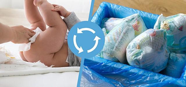Windel-Recycling wäre ein großer Gewinn für die Umwelt