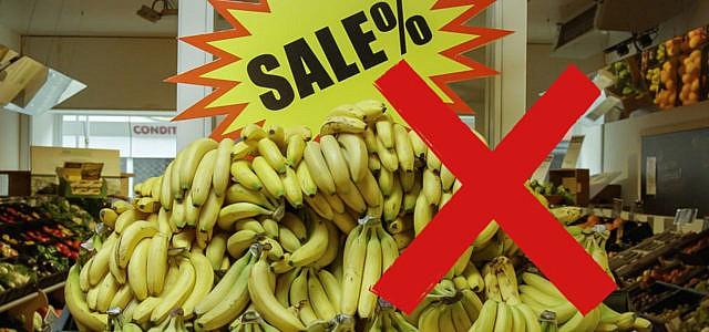 Bananen billig