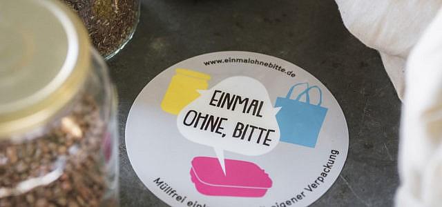 """""""Einmal ohne, bitte"""", Initiative verpackungsfrei einkaufen"""