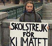 Schulstreik Greta Thunberg