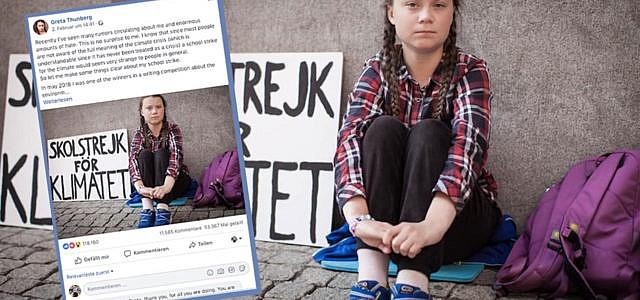 Greta Thunber offener Brief