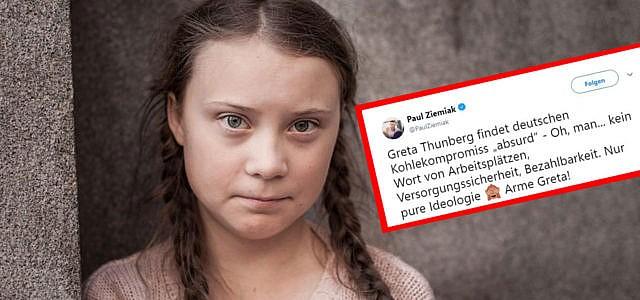 Greta Thunberg Paul Ziemiak
