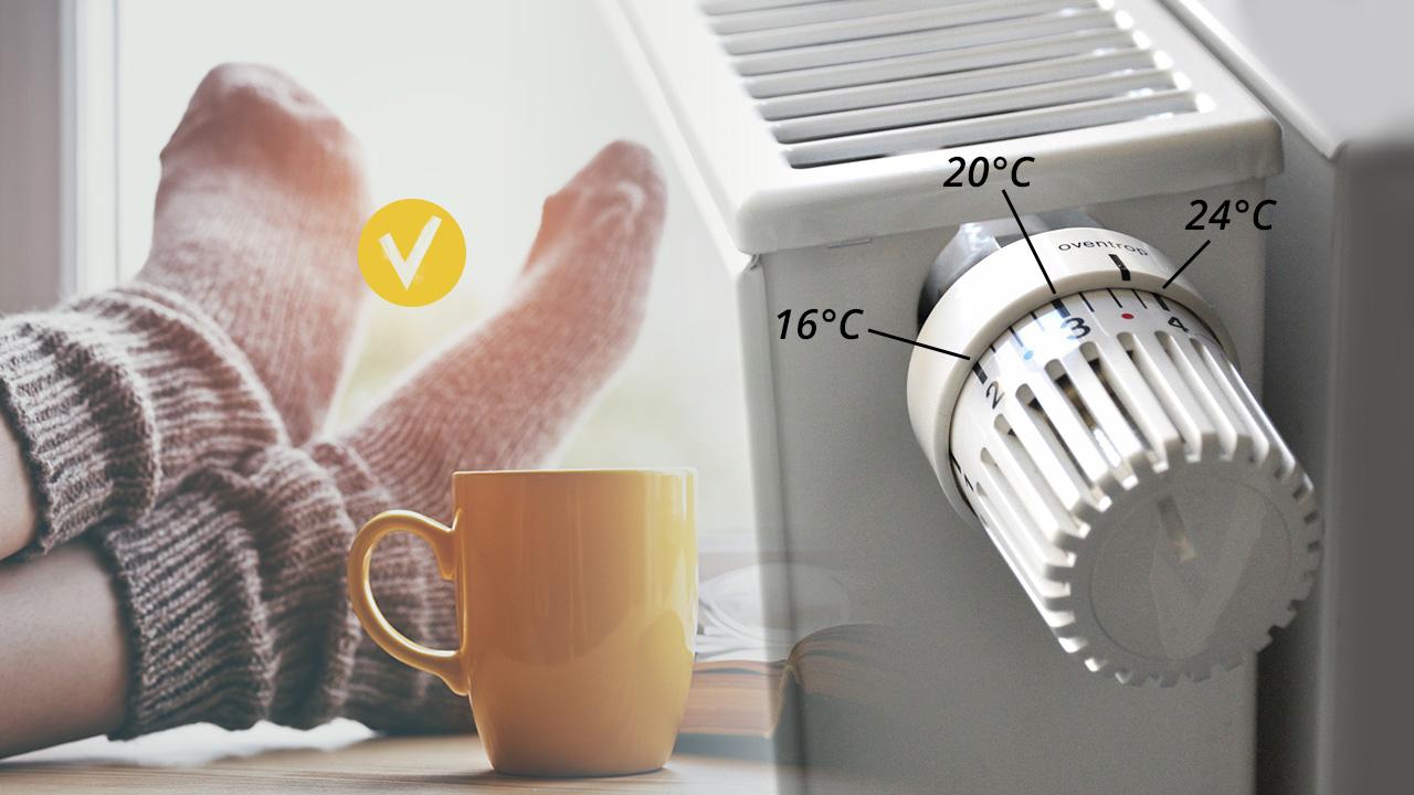Berühmt Richtig heizen: 15 Tipps zum Energiesparen im Winter | Heizung UB29