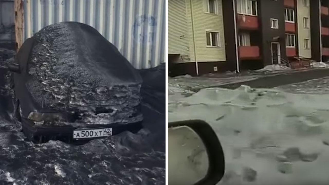 Schwarzer-Schnee: Hier fällt zurzeit toxischer Schnee