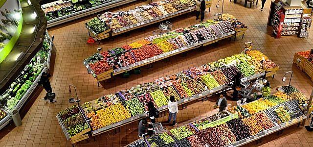 Plastik, Supermarkt, Nacktes Essen, Neuseeland