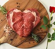 Sweetheart Steak, Steak, Herz, Valentinstag