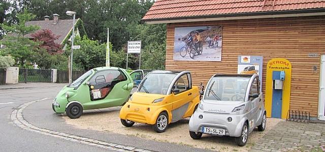 Elektroautos Ladestation