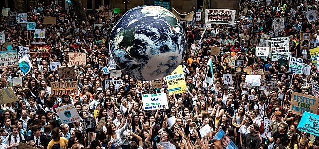 Klimastreik Schülerproteste Sydney