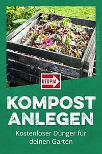 Kompost anlegen: Kostenloser Dünger für den Garten