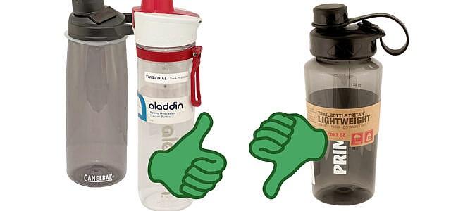 Oekotest-Trinkflaschen