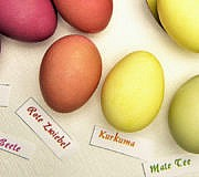 Ostereier färben natürlich