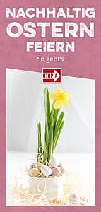 Ostern: Der Osterhase liebt es nachhaltig & ökologisch korrekt