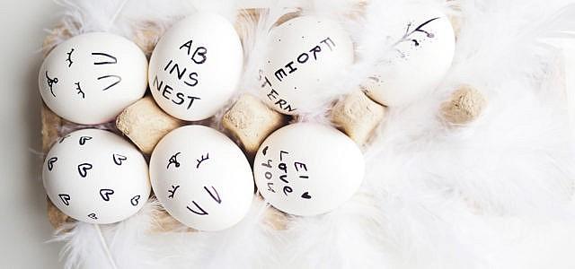 Dieses Jahr feiern wir Ostern ökologisch korrekt!