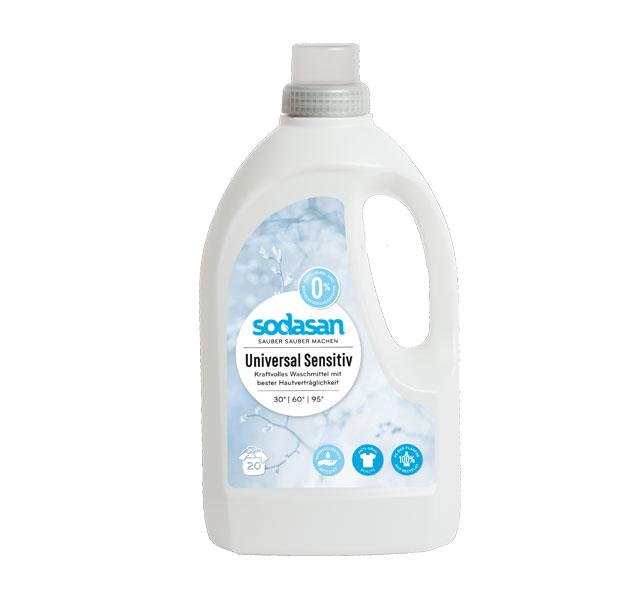 sodasan universal waschmittel sensitiv