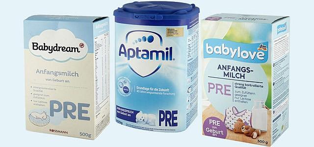 Babynahrung Muttermilchersatz Öko-Test