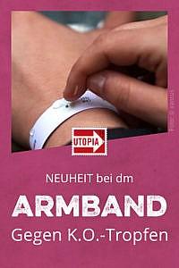 Neu bei dm: Armband gegen K.O.-Tropfen