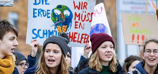 Fridays for Future Klimaschutz