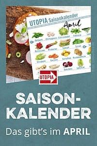 Saisonkalender: Das gibt's im April