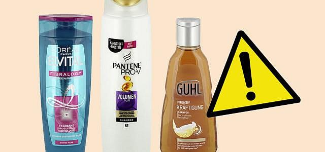 Öko-Test Shampoos ohne Silikone