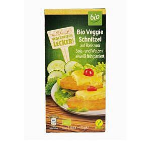 Vegetarisch Lecker! Bio Veggie Schnitzel