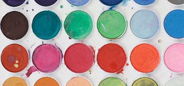 Wasserfarben Farben