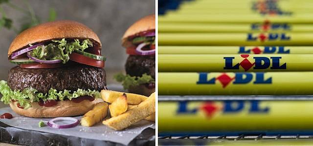 Beyond Meat Burger bei Lidl