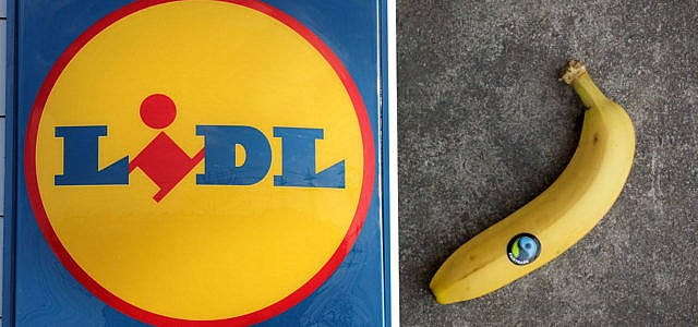 Lidl, Banane, Fairtrade