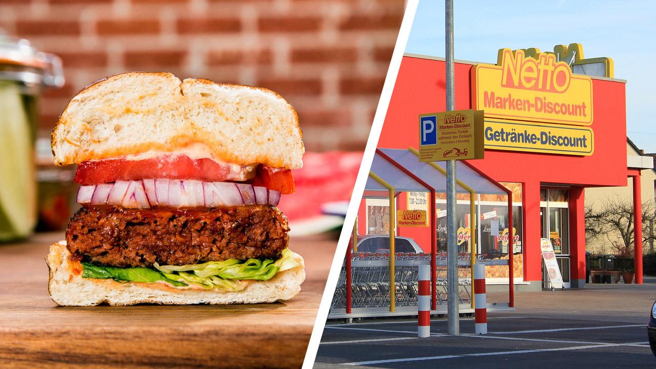 Veganer Hype: Beyond-Meat-Burger im Juli bei Netto
