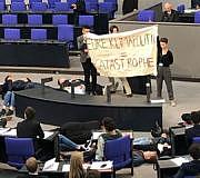 Bundestag Protestaktion Fridays for Future