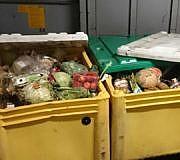 Containern, Lebensmittelverschwendung, Supermarkt, Kaufhaus, Lestra
