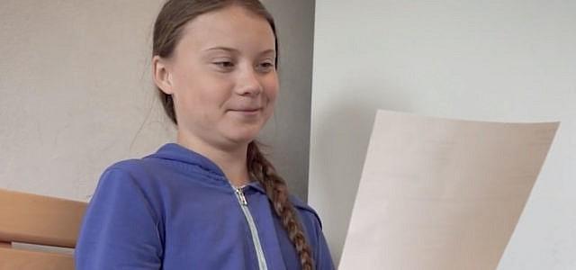 Greta Thunberg Zeugnis