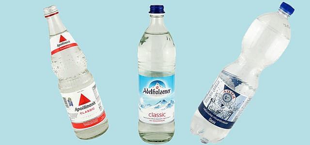 Mineralwasser, Test, Öko-Test