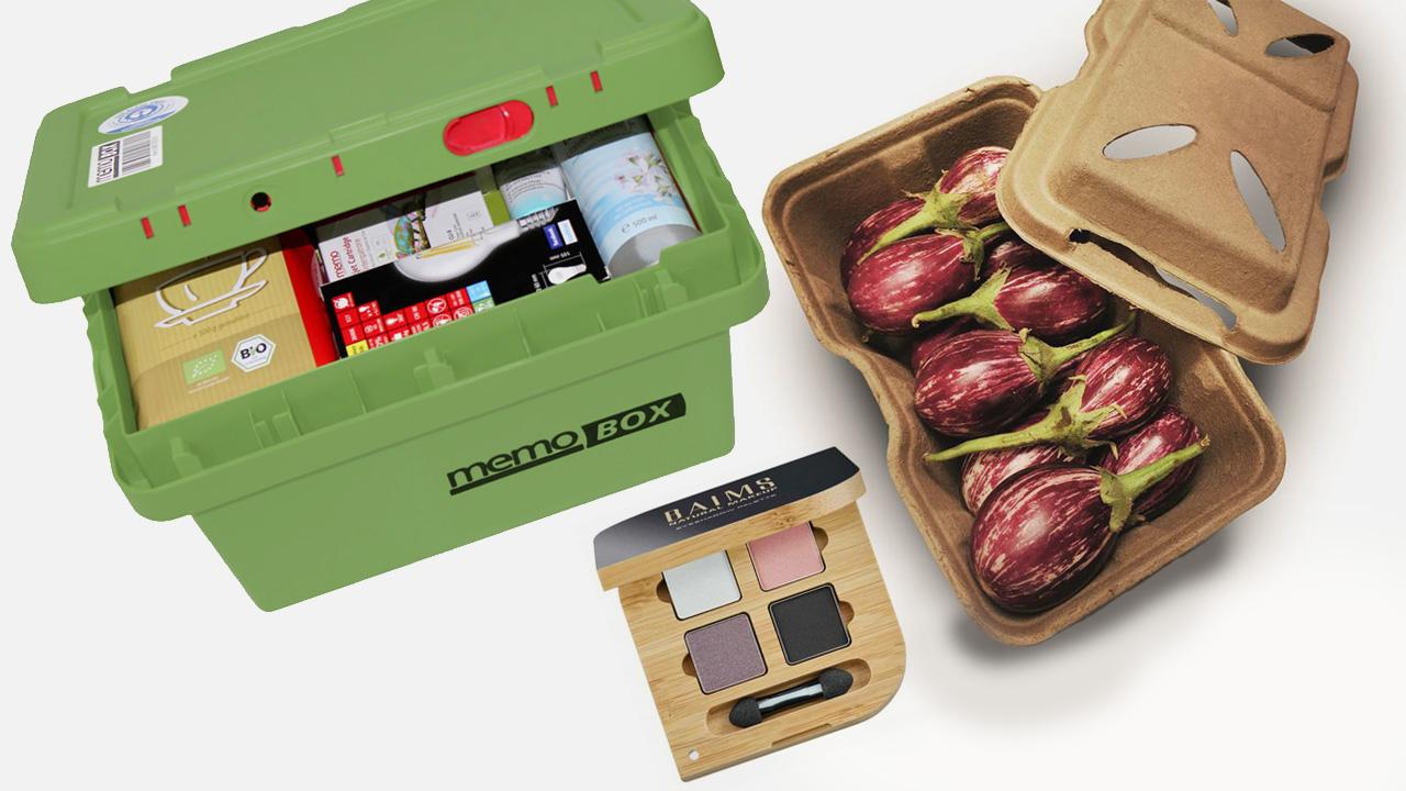Nachhaltige Verpackungen für Kosmetik, Lebensmittel & Versand