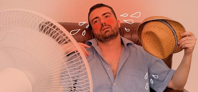 Wohnung Zimmer Räume Luft kühlen abkühlen runterkühlen kühl halten tipps