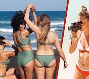 nachhaltige Bikinis, Badeanzüge und Badehosen