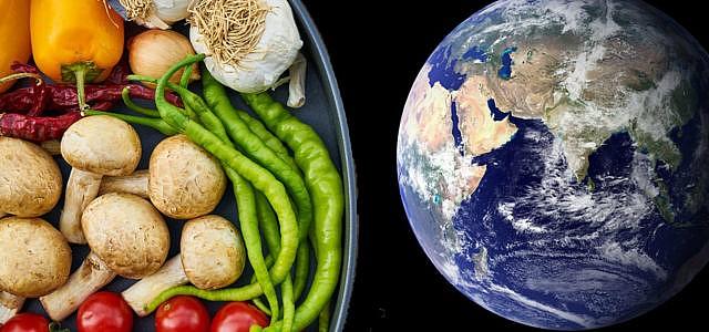 Erde Ernährung Klima