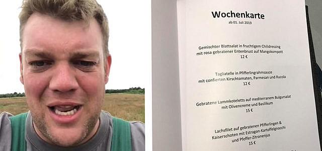 Fleisch, Bundestag, Kantine, Facebook, Video, Bauer