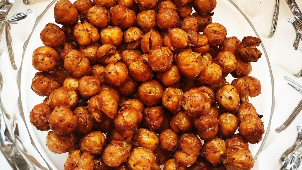 Geröstete Kichererbsen: Ein Rezept für den veganen Snack