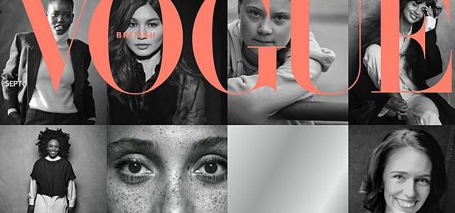 Herzogin Meghan Vogue Cover Greta
