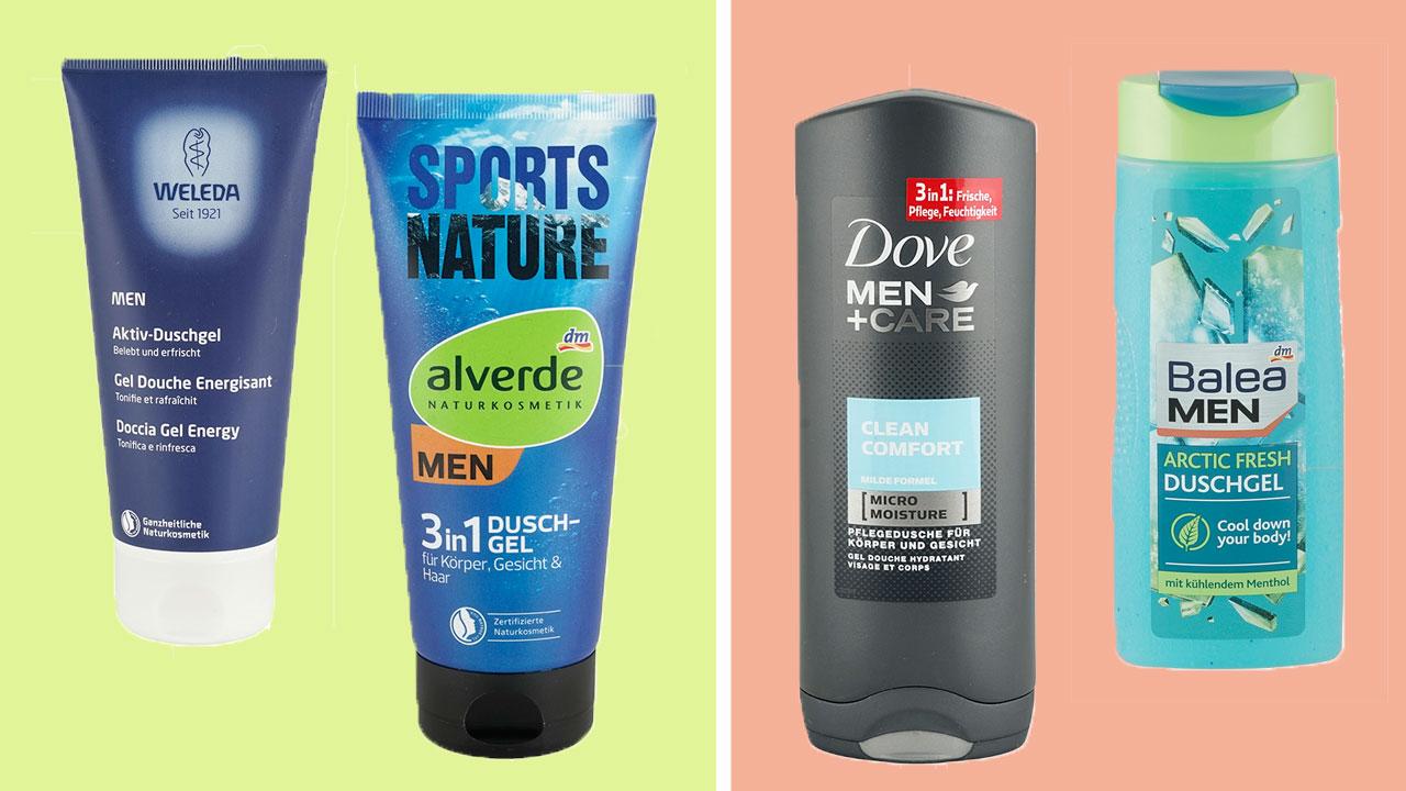 Duschgele Für Männer Bei Öko-Test: 13 Mal Sehr Gut