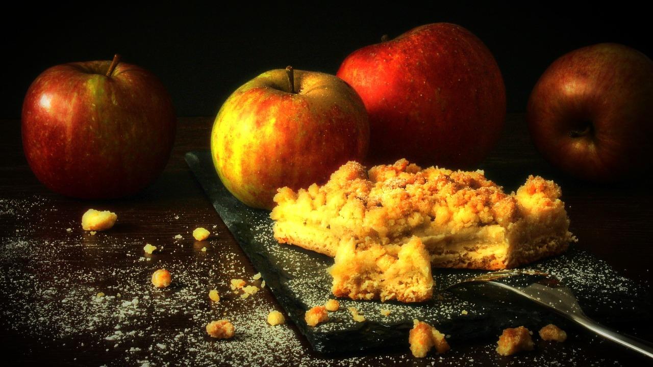 Veganer Apfelkuchen: Ein schnelles Rezept mit Apfelmus