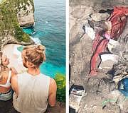 Bali Insel Müll