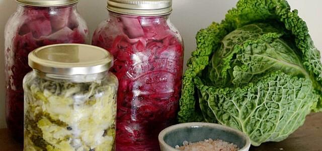 Fermentieren: Fermentierte Lebensmittel halten sehr lange.