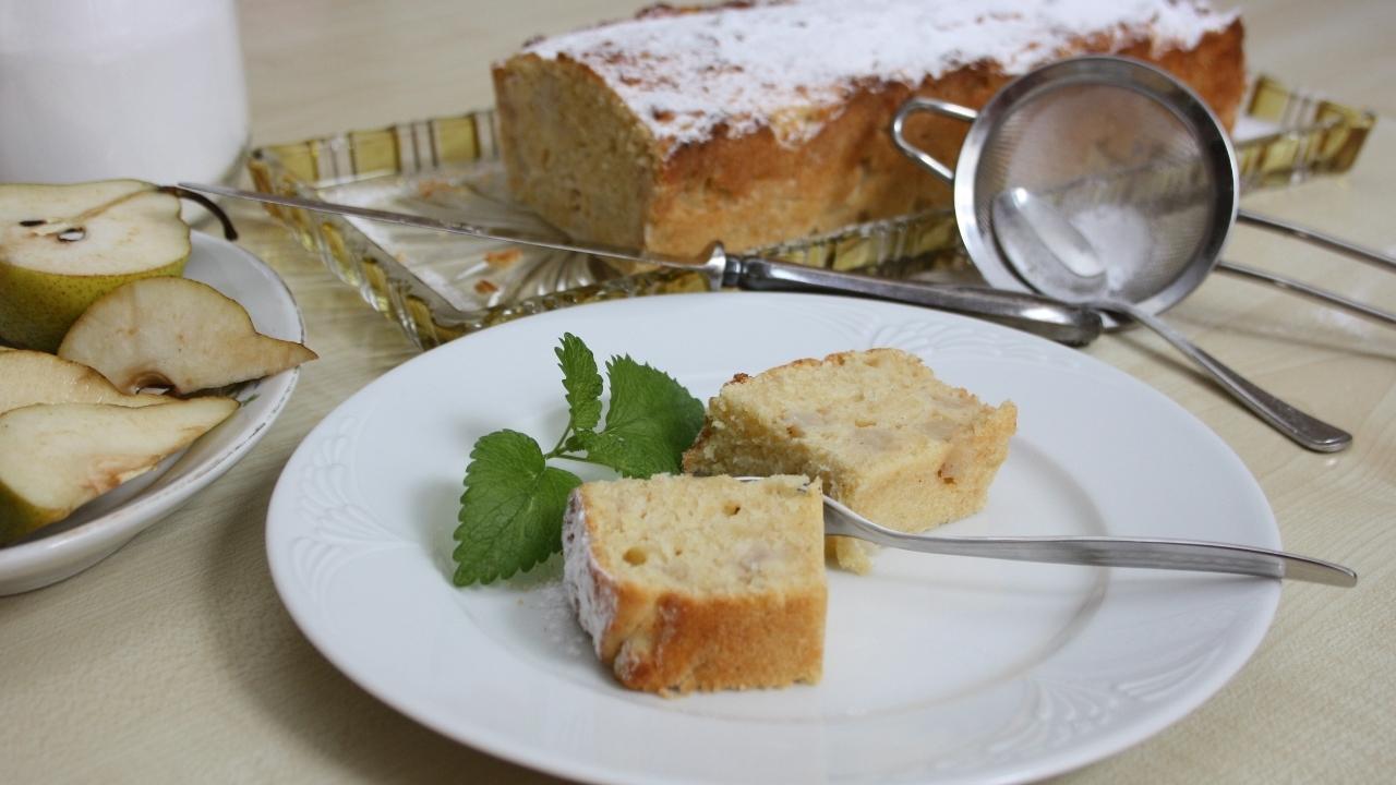 Birnenkuchen: Leckeres Rezept für saftigen Kuchen