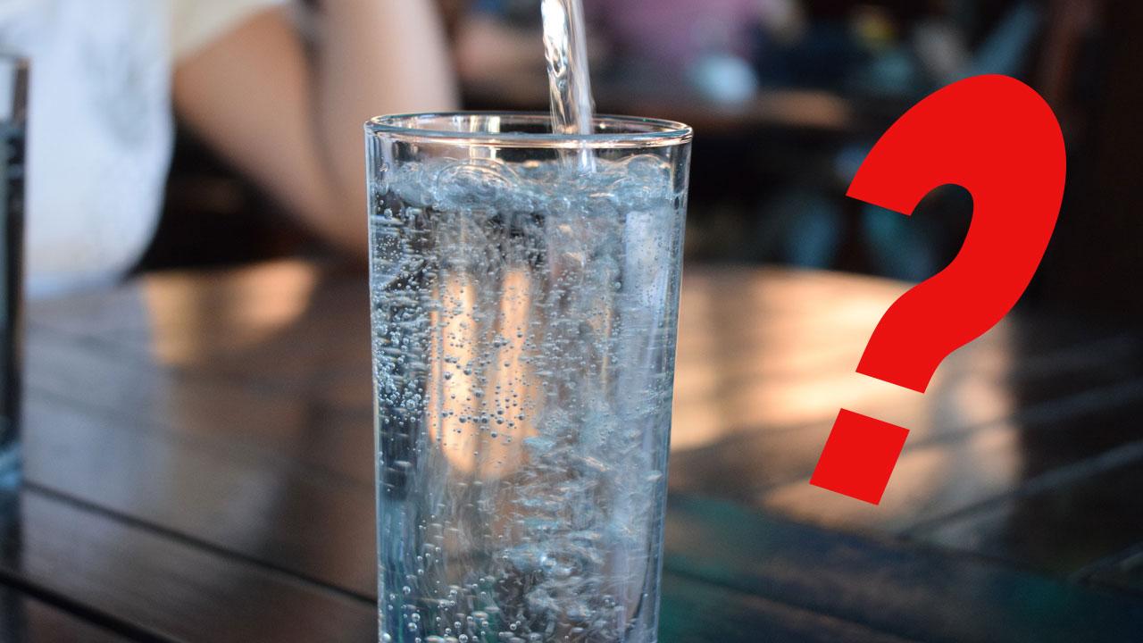 warum kein sprudelwasser beim abnehmen