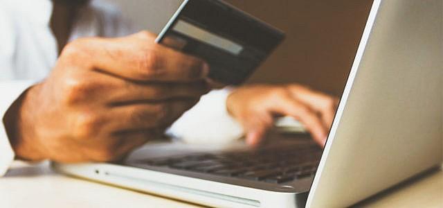 Online-Shopping Kreditkarte