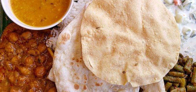 vegetarisch curry