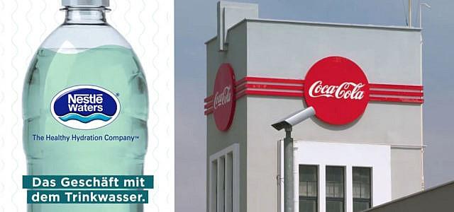 Geschäft, Trinkwasser, Arte, Coca-Cola, Nestle